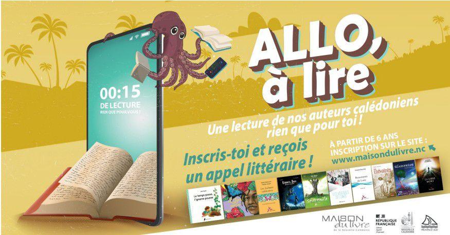 Bon plan : la maison du Livre de Nouvelle-Calédonie lance l'opération Allo, à lire !