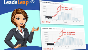 What can you get from LeadsLeap?