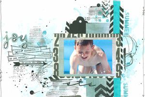 Petits moments choisis_DT Scrap&Co_Défi sketch page