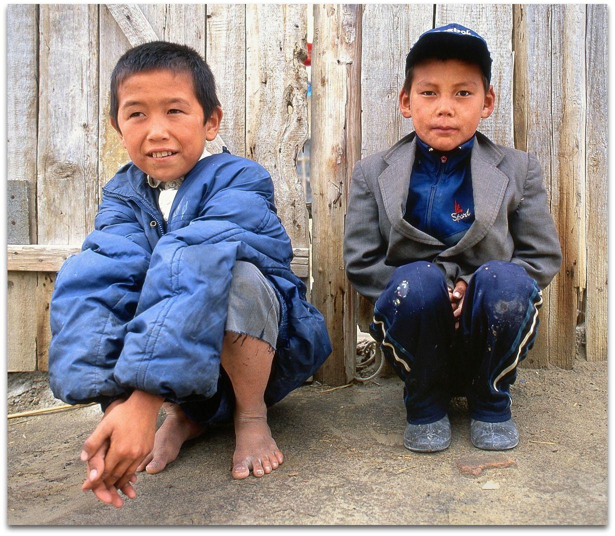 Les enfants de Moynaq
