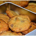 Cookies aux éclats de Marrons Glacés recette de Philippe Conticini