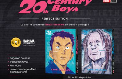 Panini manga : 20th Century Boys