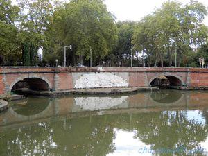 Toulouse, canal du midi en camping-car