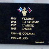 Dévoilement de plaque le 18 novembre 2018 pour les Anciens du 9 à Neuf-Brisach - anciens9genie.overblog.com