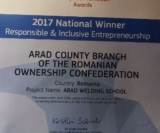 RoumanIE : European Enterprise Promotion Awards – La soudure roumaine à l'honneur !