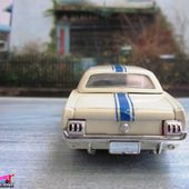 FORD MUSTANG 1965 N°64 ECURIE FORD FRANCE SOLIDO 1/43 - car-collector.net