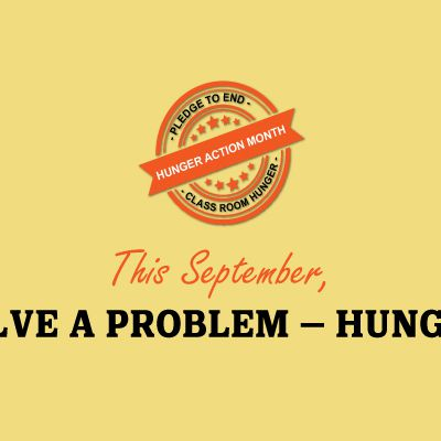 Hunger Action Month - A Campaign to Fight Hunger