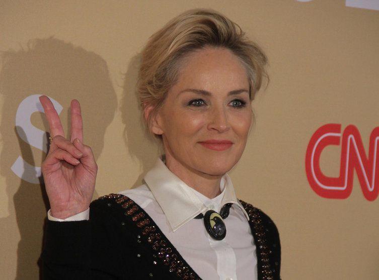 Sharon Stone au naturel sans maquillage a 57 ans !