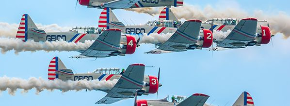GEICO Skytypers Air Show Team Announces Busy 2017 Schedule