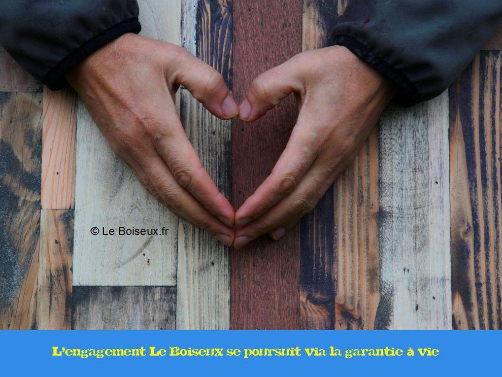 Sur des plateaux qu'il compose planche par planche, Le Boiseux écrit, avec vous, une histoire sur mesure, de l'atelier à l'assiette