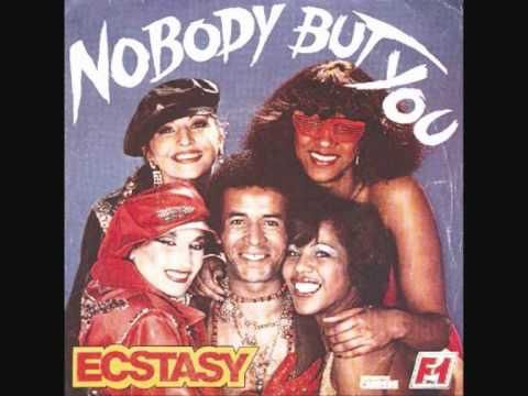 """ecstasy alias chris dobat et ce titre """"nobody but you"""" distribué par le label de ringo FORMULE 1 distribué par CARRERE"""