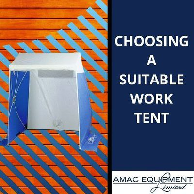 Securing The Safety of Your Workers Through Work Tents