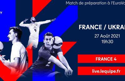 France / Ukraine (Volley Masculin) Sur quelles chaînes suivre la rencontre vendredi ?