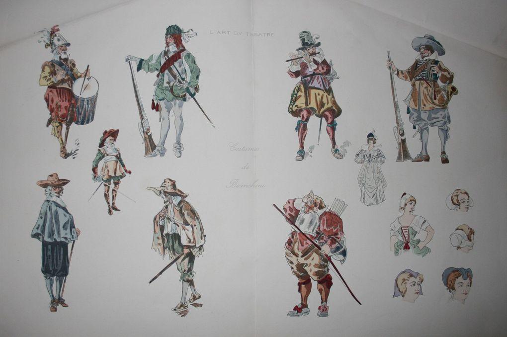 LES GRAVURES DE MODE ANCIENNES / CULTURE