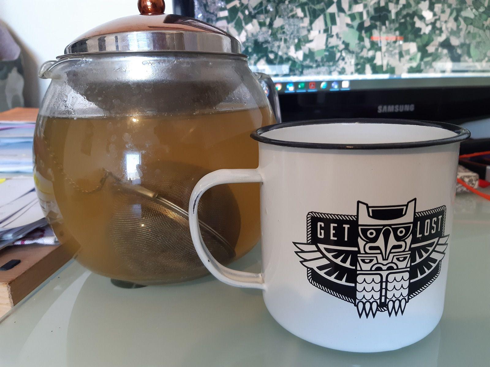 Un bon thé pour digérer ^_^