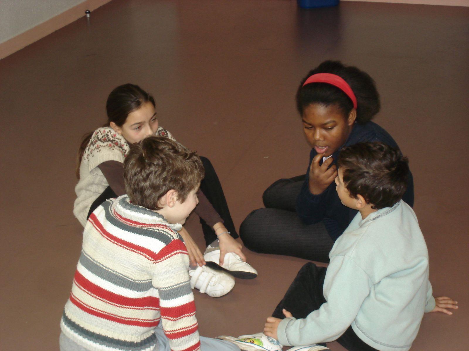 Atelier théâtre pour les enfants