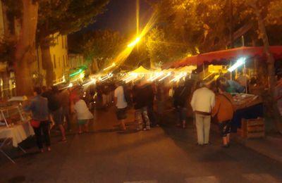 VOLONNE... Un marché nocturne très plébiscité !