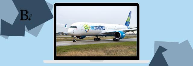 Air Caraïbes dessert Saint Barthélemy par un vol quotidien