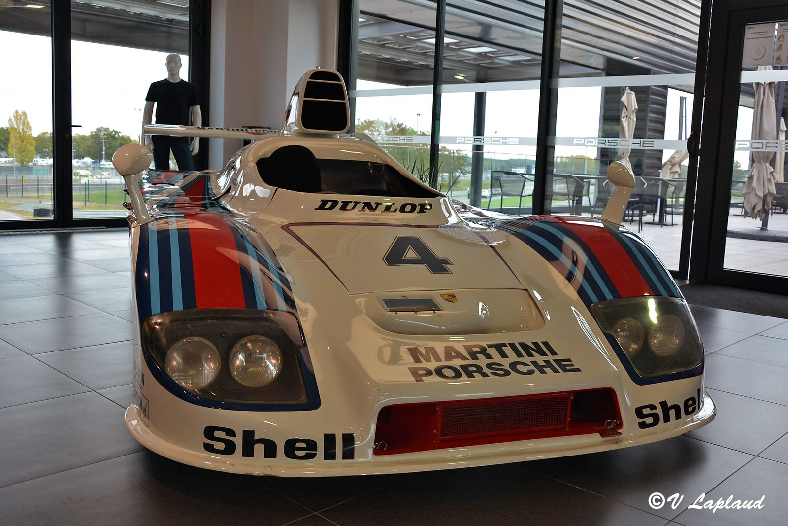 Porsche 936-002, Porsche Experience Center du Mans 2020.