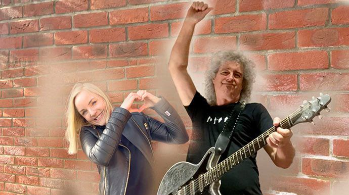 Brian May et Kerry Ellis dévoilent le titre « Panic Attack 2021 » °Via ZIKEO°