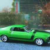 1970 FORD MUSTANG BOSS 302 CASTLINE 1/64 - car-collector.net