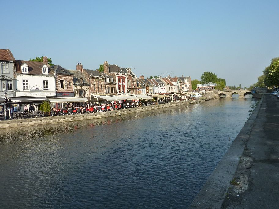 Après la côte picarde voici Abbeville, Amiens et quelques vues de la vallée de la Somme