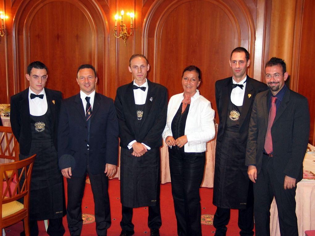Souvenirs de la finale interrégionale du Trophée Ruinart en octobre 2006 à Monaco. (Photos JB)