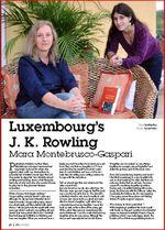 Luxembourg's J.K. Rowling - Mara Montebrusco-Gaspari