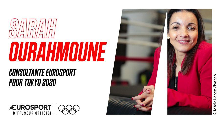 Sarah Ourahmoune rejoint Eurosport à l'occasion des Jeux Olympiques Tokyo 2020