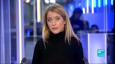 2013 03 06 - PAULINE PACCARD - FRANCE 24 - LE JOURNAL @05H00