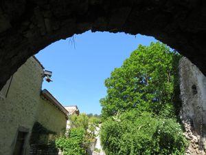 Les vestiges de l'ancienne église Saint-Nicolas détruite en 1705