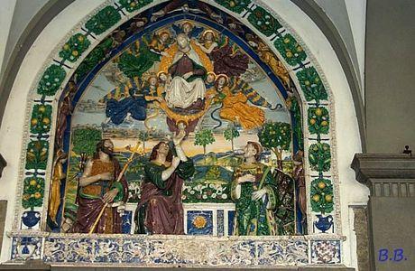 Giovanni Della Robbia a San Giovanni in Valdarno