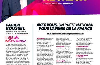 Fabien Roussel 2022 : Le défi des jours heureux