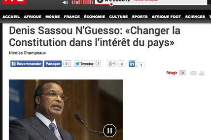 Merkel a fait 3 mandats : un modèle pour le Son of the Beach Sassou N'Guesso