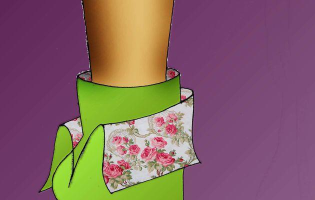 Un designer d'escarpins, voit la vie en rose