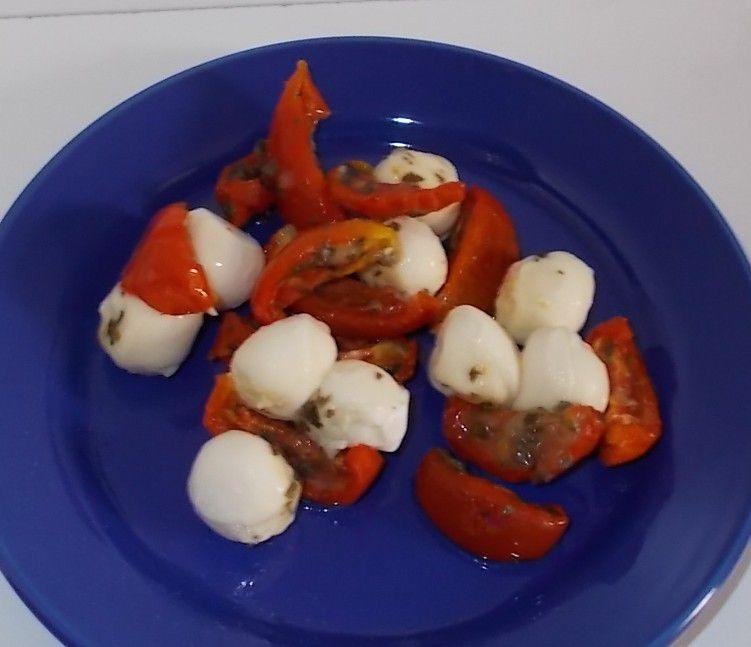 Aldi W Mozzarella mit halbgetrockneten Tomaten