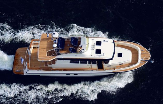 Scoop - a 46-foot Model for Targa Botnia Marin