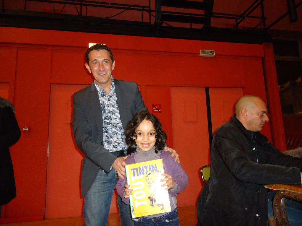 Loto et Fête du livre 2012