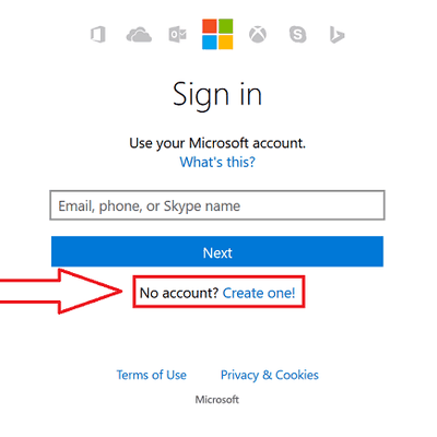 Hotmail Sign Up Steps