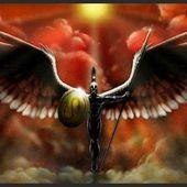 Flamme Elohim Sacrée - Or - Indigo - Orange Ares. - Les 12 Éveillés Sacré Christiques.