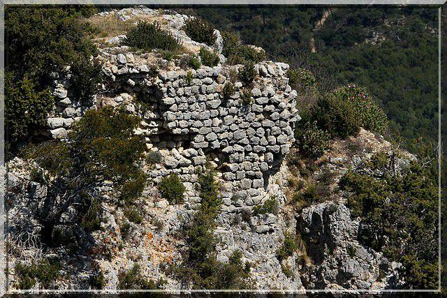 Diaporama castellas LA ROQUE d'ANTHERON