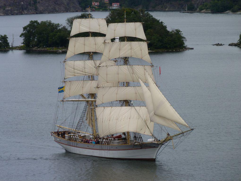 Erster Seetag und Stockholm (Ostsee /Baltikum ,Teil 3)