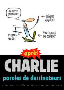 APRES CHARLIE, PAROLES DE DESSINATEURS : exposition à Limoges
