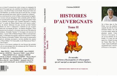 Livre HISTOIRES D'AUVERGNATS tome II