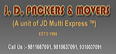JD Packers & Movers