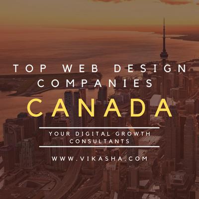 Top web design companies Canada