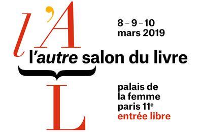 A partir d'aujourd'hui 8 mars l'Autre Salon du livre