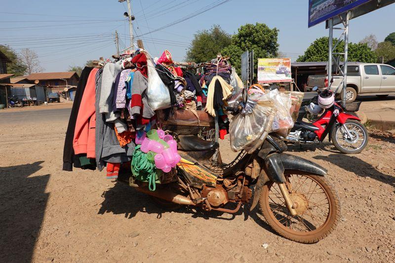 LAOS : le plateau des BOLOVENS à moto