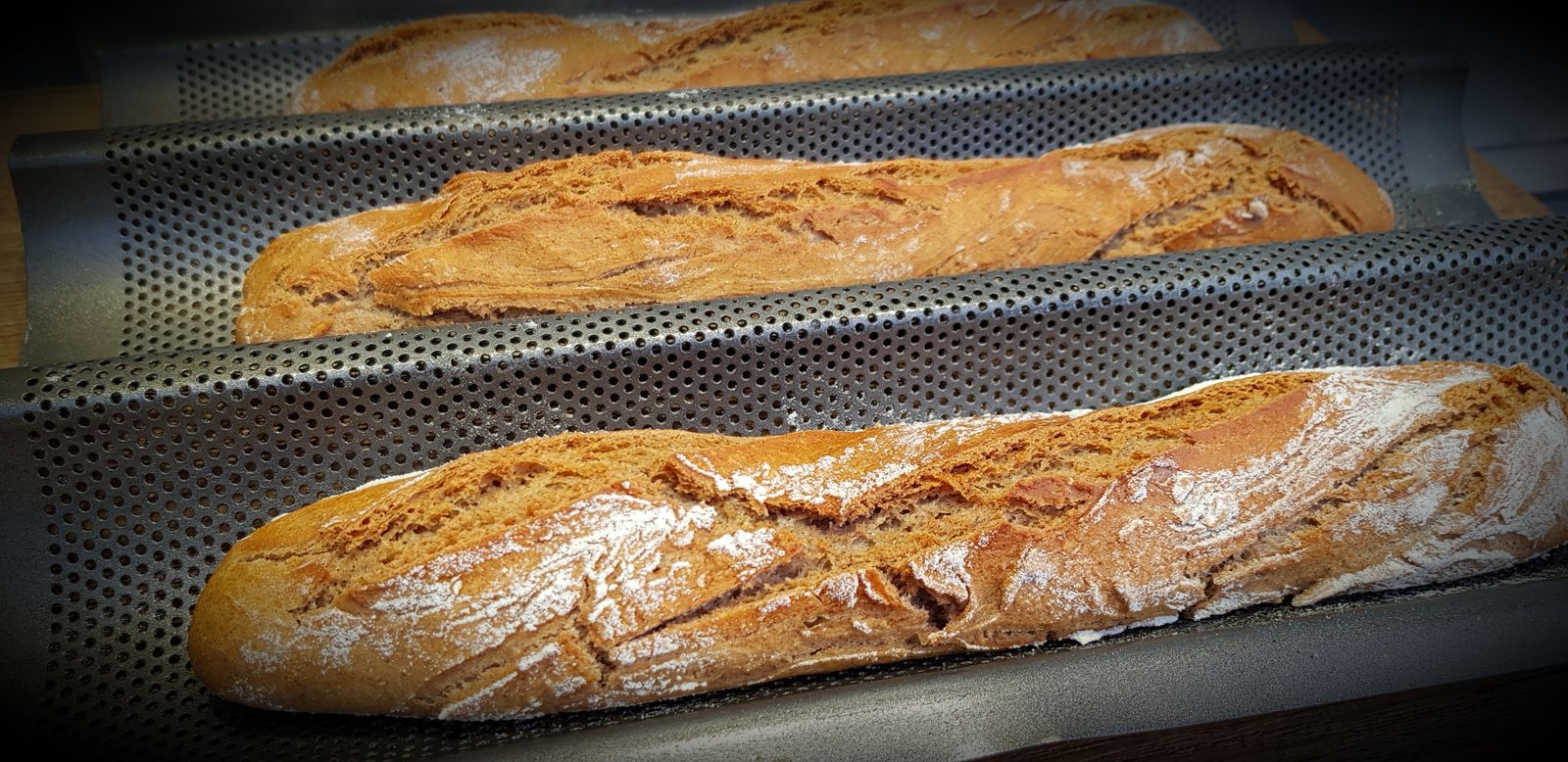 Baguettes au sarrasin