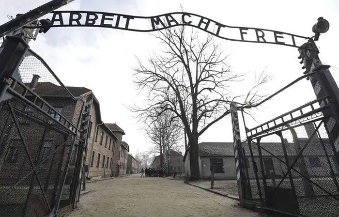 Le camp d'Auschwitz-Birkenau. — Michael Sohn/AP/SIPA